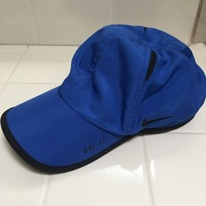 Nike dri fit blue hat